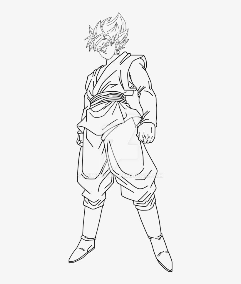 Goku Black Super Saiyan Rose Drawing - Goku Black Rose ...