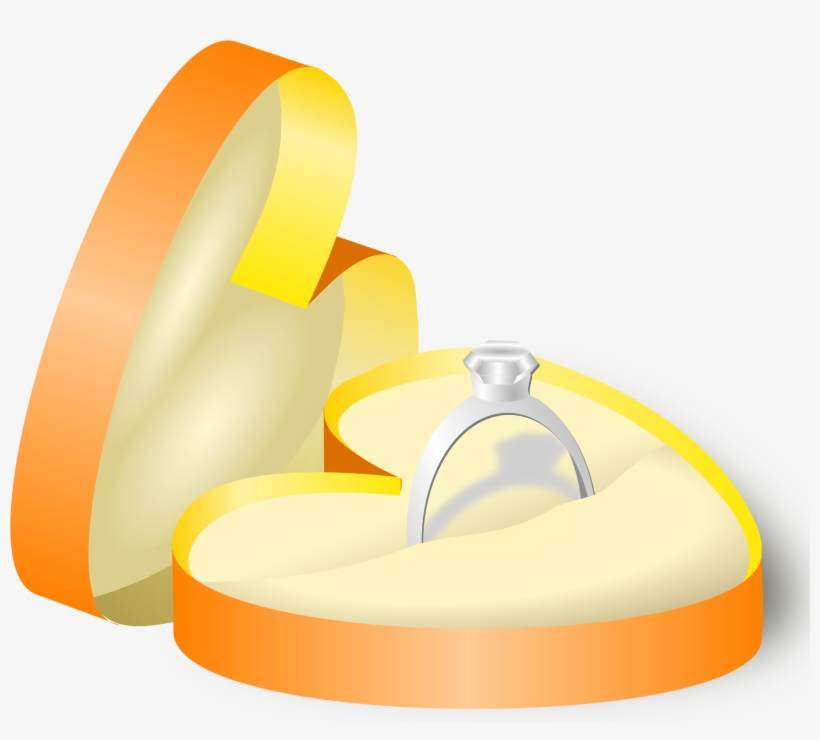This Free Icons Png Design Of Wedding Ring In A Box Free