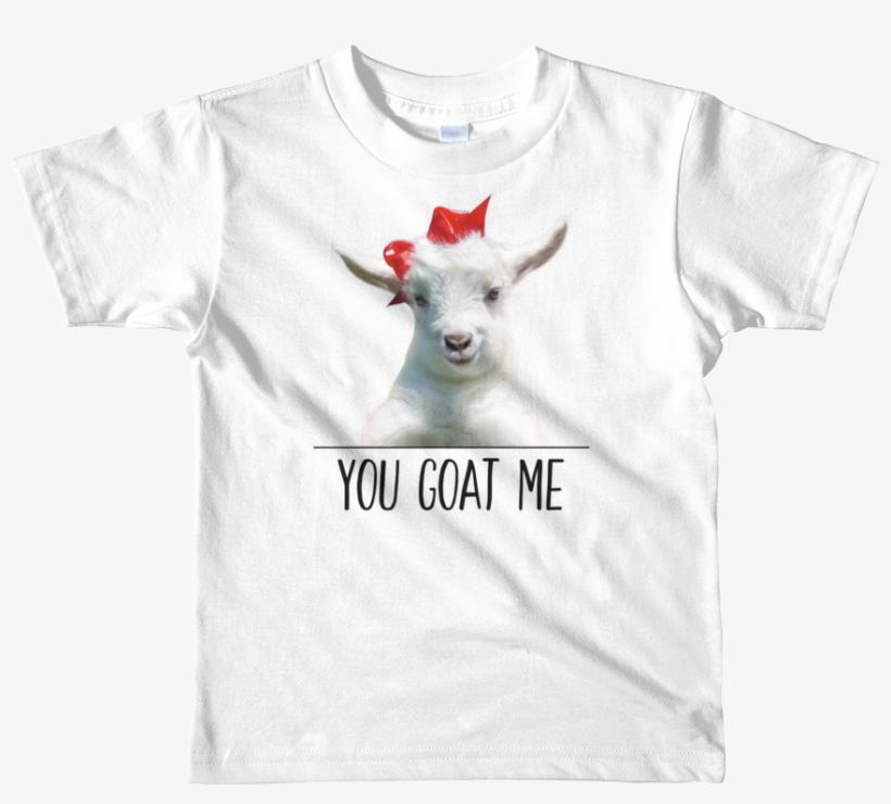 Baby Goat Kids Unisex T-shirt - Kids Personalized Shirt | Short Sleeve Kids T-shirt, transparent png #3427991
