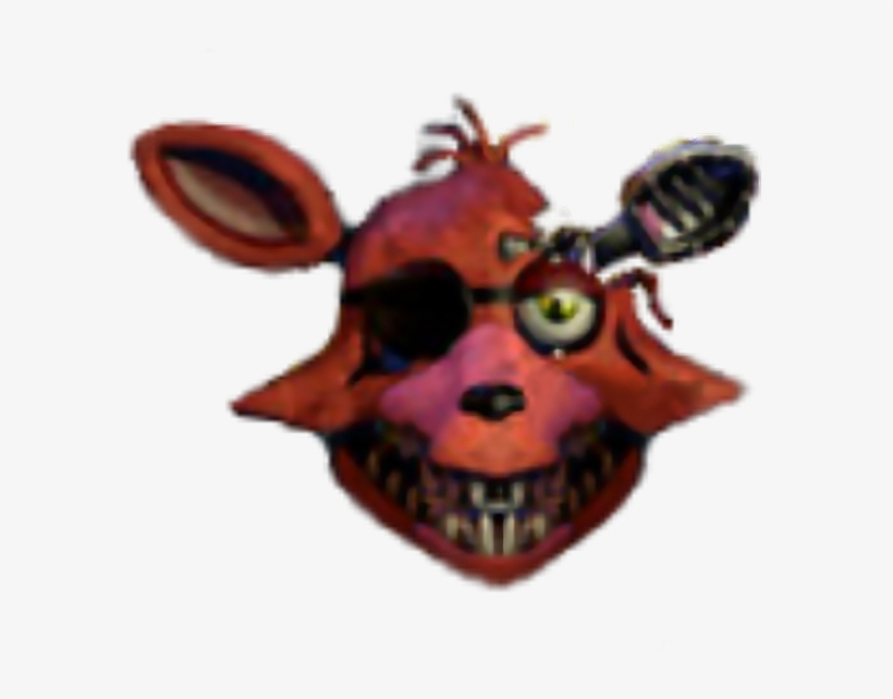 Fox Head Lol Foxy Fnaf Fnaf2 Fnaffoxy Fnaf2foxy Freetoe