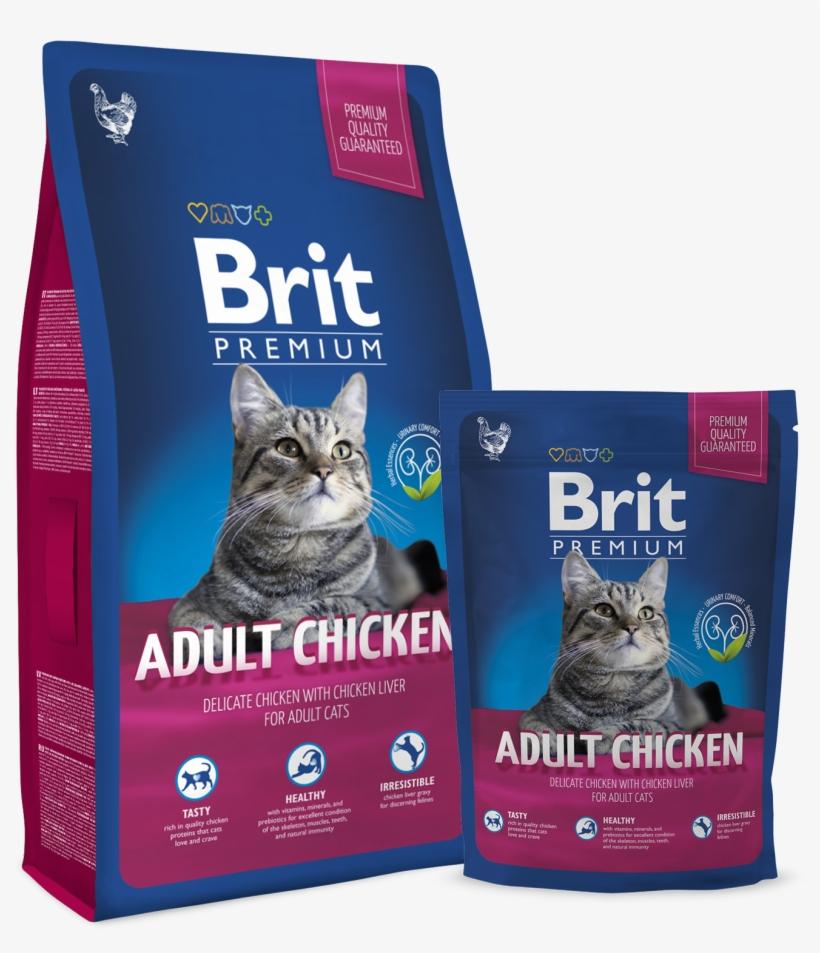 Brit Premium Cat Adult Chicken, transparent png #3432545