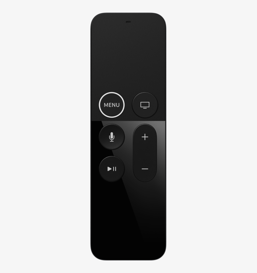 And Thanks To Bluetooth, You Don't Have To Point Your - Apple Tv, transparent png #3434424