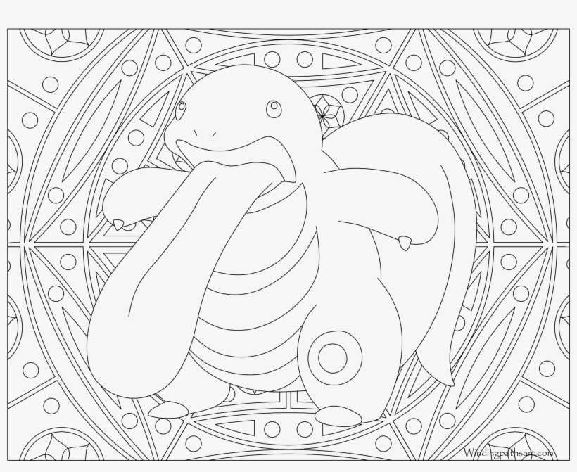 #108 Lickitung Pokemon Coloring Page - Printable Adult Coloring Pages Pokemon, transparent png #3434906