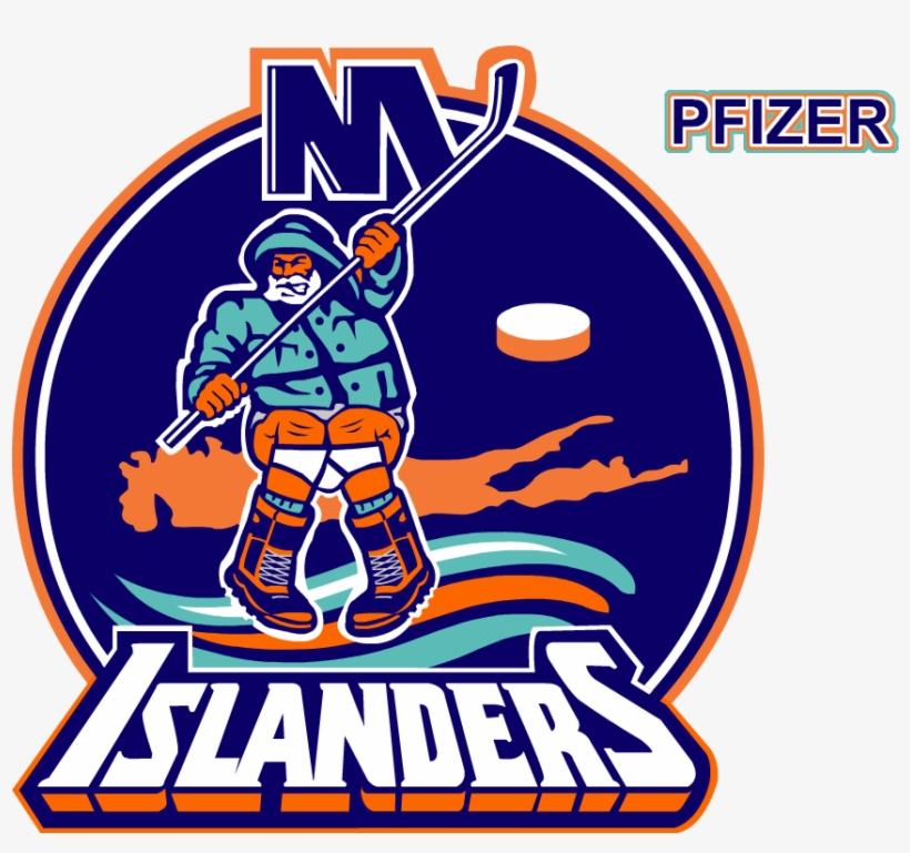 New York Islanders Clipart 3 By Toni - Islanders Fisherman Logo T Shirt, transparent png #3439857