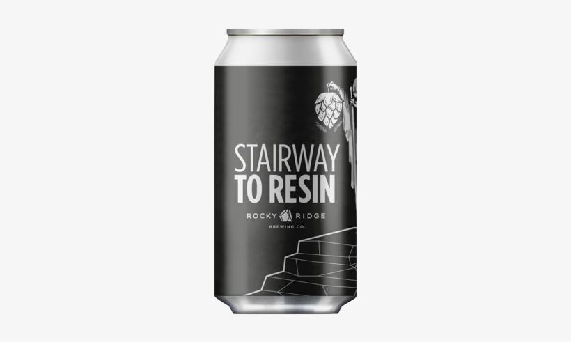 Beer Rocky Ridge & Old Bridge Cellars Stairway To Resin - Rocky Ridge Brewing Co Stairway To Resin, transparent png #3441438