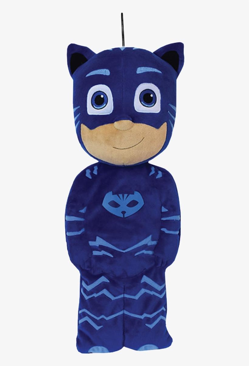 Catboy Pyjama Bag Plush - Pj Masks Catboy Pyjama Bag, transparent png #3442602
