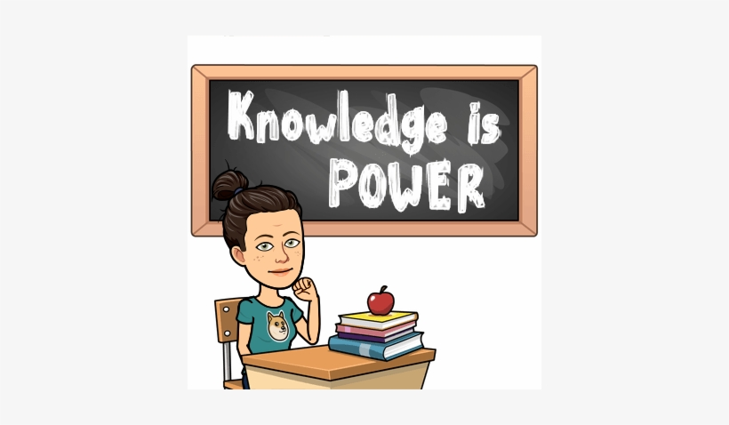 Welcome To 5th Grade Math And Science Please Use This - School Bitmoji, transparent png #3443400