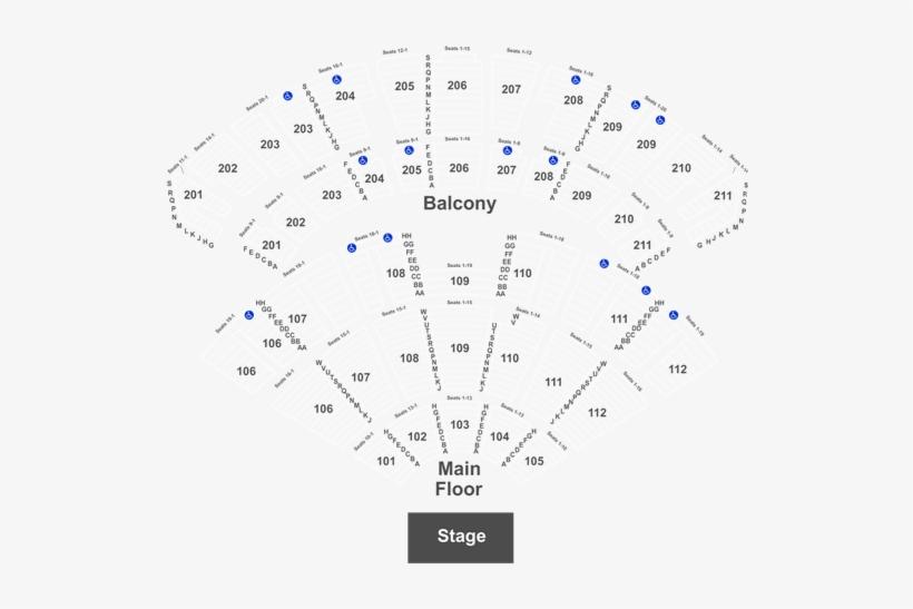 Encore Theater Seating Chart Las Vegas