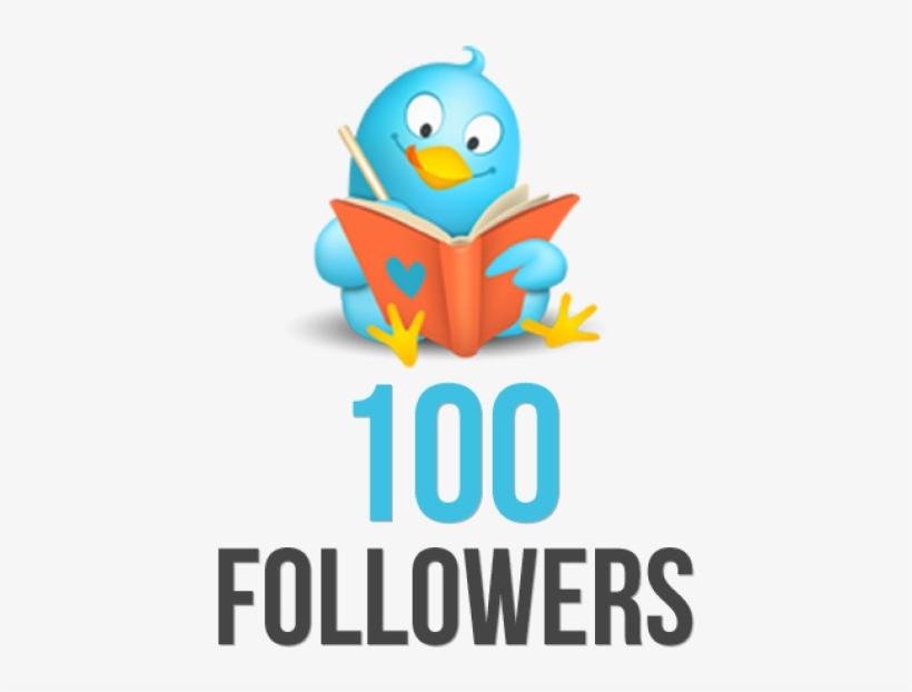 29 Nov - 100 Twitter Followers Thank You, transparent png #3448803