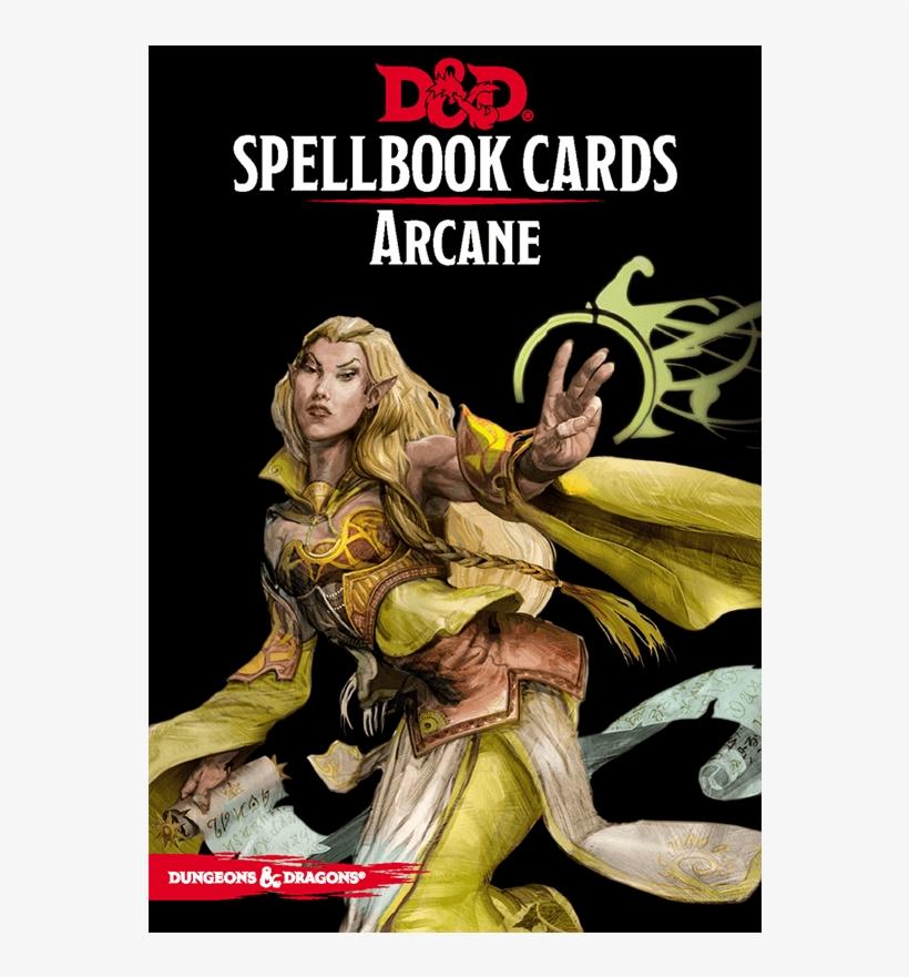 Dungeons & Dragons - D&d Spell Cards Arcane, transparent png #3449894