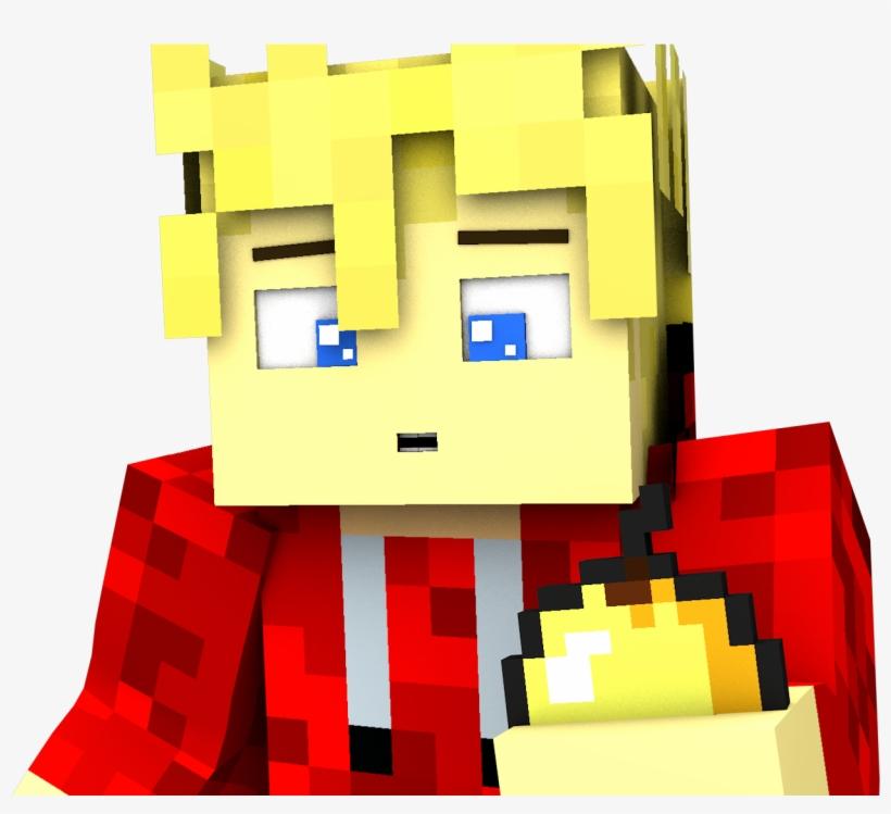Minecraft Golden Apple Transparent Background - Skins De Minecraft 3d, transparent png #3455644