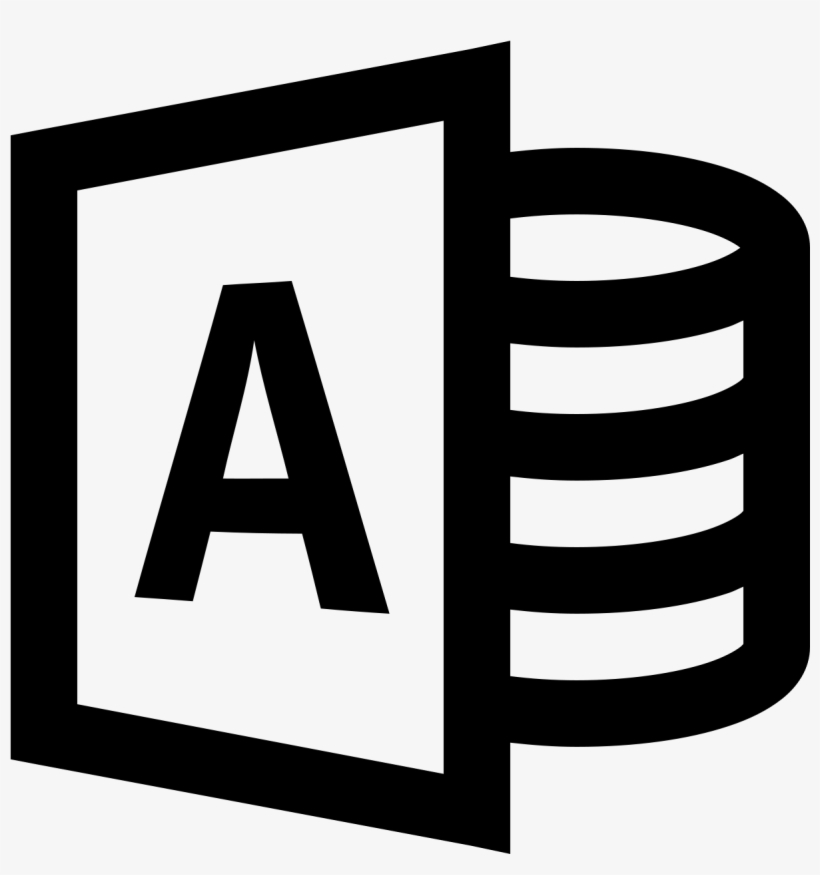 Microsoft Access Icon Free Download Png And Vector - One