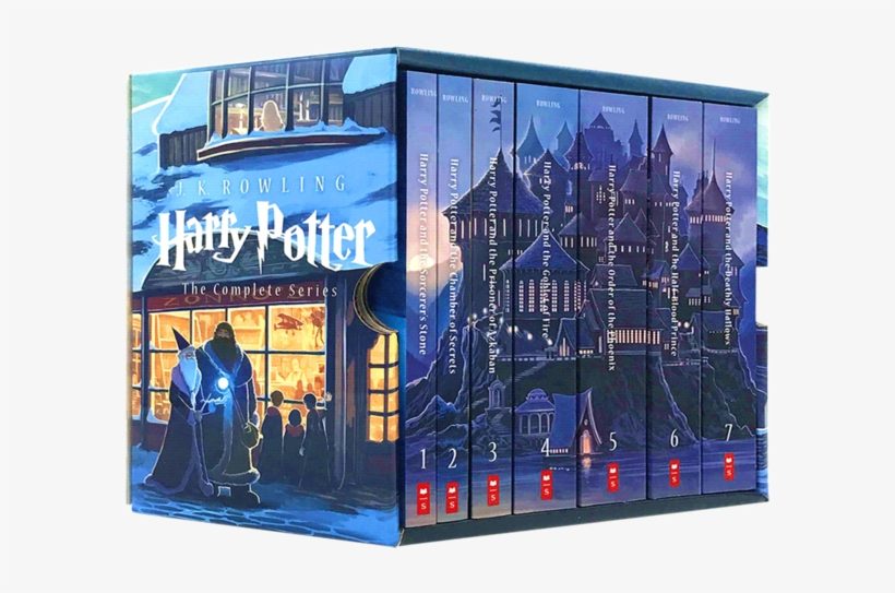 Genuine Spot Harry Potter Complete Works English Original - Harry Potter Special Edition Box Set By J.k. Rowling, transparent png #3457565