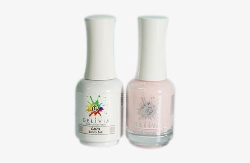 Gelivia Nail Lacquer And Gel Polish, 873, Bunny Tail - Nail Polish, transparent png #3458661