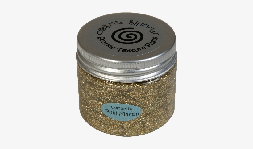 Phill Martin Cosmic Shimmer Precious Metals Collection - Cosmic Shimmer Sparkle Texture Paste - Frosty Dawn, transparent png #3459884