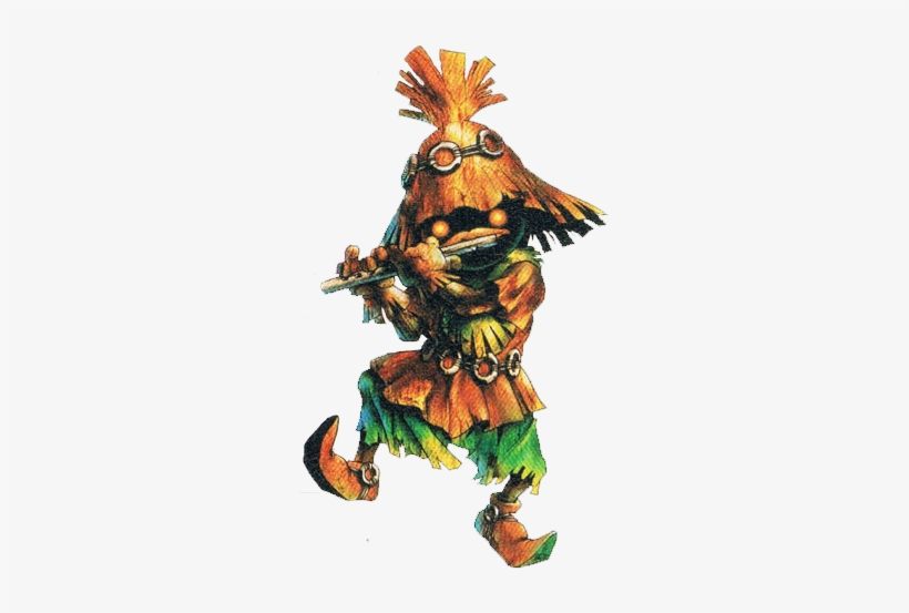 Since The Kokiri Are Frightened Of The Outside World, - Skull Kid Ocarina Of Time, transparent png #3460536
