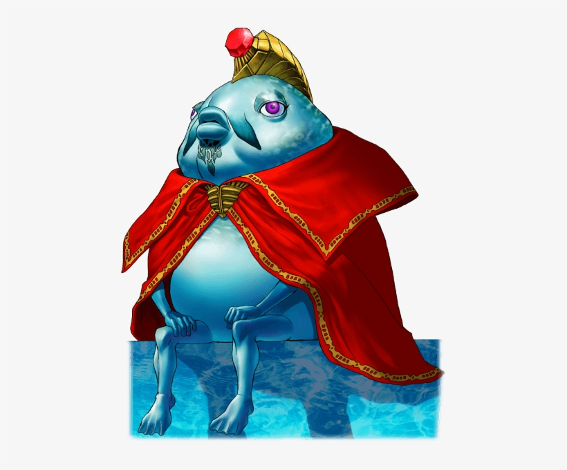 #kingzora From The #tloz Ocarina Of Time Official Art - Legend Of Zelda Zora King, transparent png #3460560