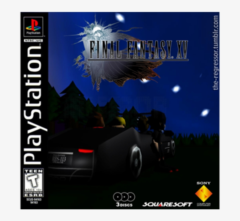 As A Playstation 1 Game - Final Fantasy Xv Day One Edition (xbox-one), transparent png #3468382