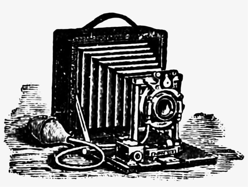 Victorian Clipart Victorian Era - Camera Victorian Era, transparent png #3468554