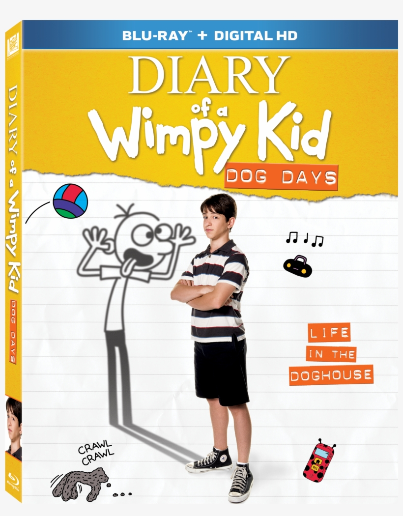 Diary Of A Wimpy Kid - Diary Of The Wimpy Kid, transparent png #3468738
