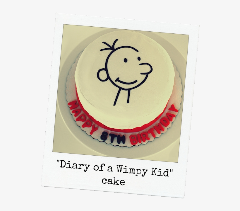 Keeping My Cents Diary Of A Wimpy Kid Birthday Party - Diary Of A Wimpy Kid Cake, transparent png #3468801