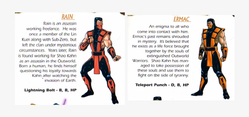 N64 Mk Trilogy Manual Misprint - Ermac Mortal Kombat - Free