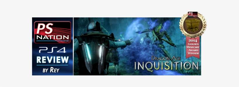 Dragon Age Inquisition Mc 2014 Review Banner - Dragon Age Inquisition - Game Console - Download, transparent png #3471630
