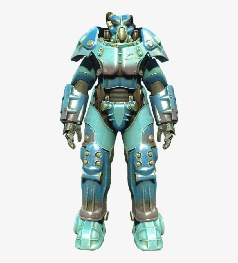 Quantum X-01 Power Armor - Fallout 4 Quantum Power Armor, transparent png #3474646