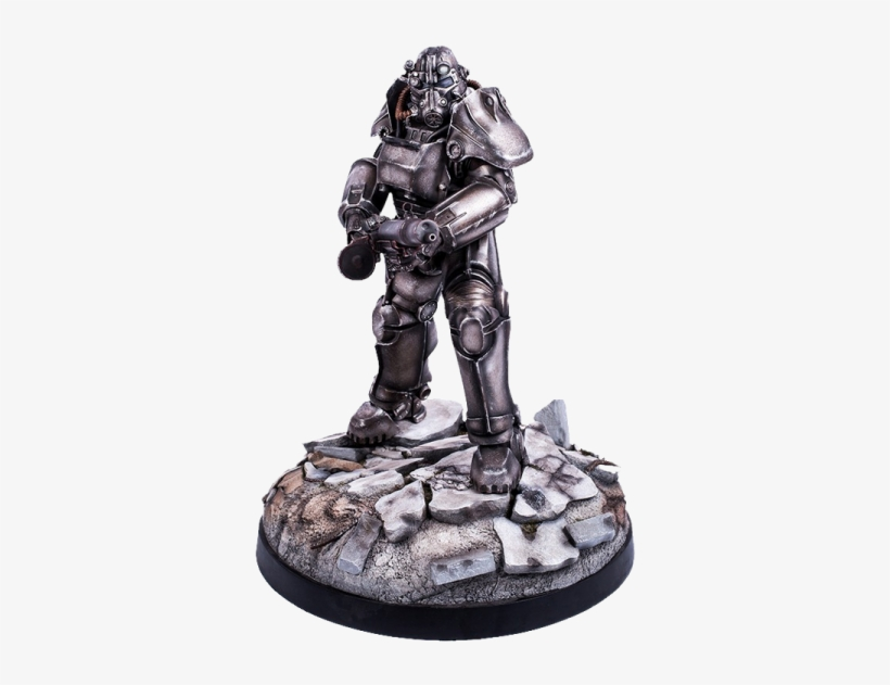 Fallout 4 Statue T-45 Power Armor - Fallout 4 T-45 Power Armor 1:4 Scale Statue, transparent png #3474738