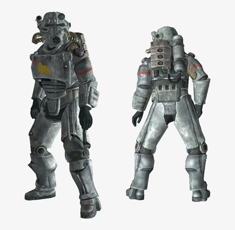 Power Armour Ncr - Salvaged Power Armor Fallout 4, transparent png #3474740