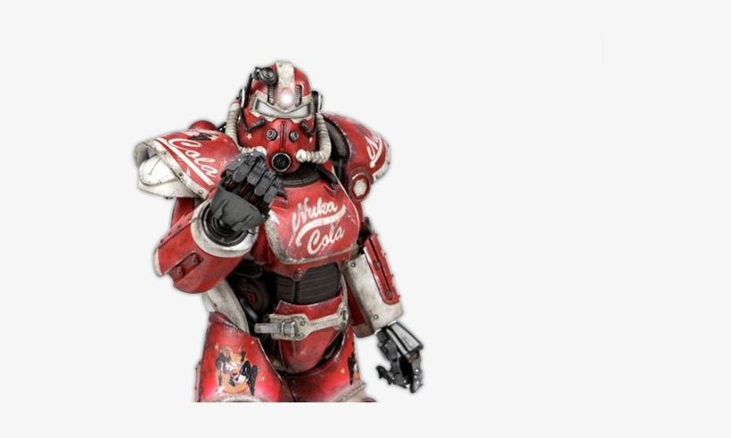 Does Your Threezero Fallout 4 Power Armor Figure Need - Fallout 4 Nuka Cola Power Armor, transparent png #3474919