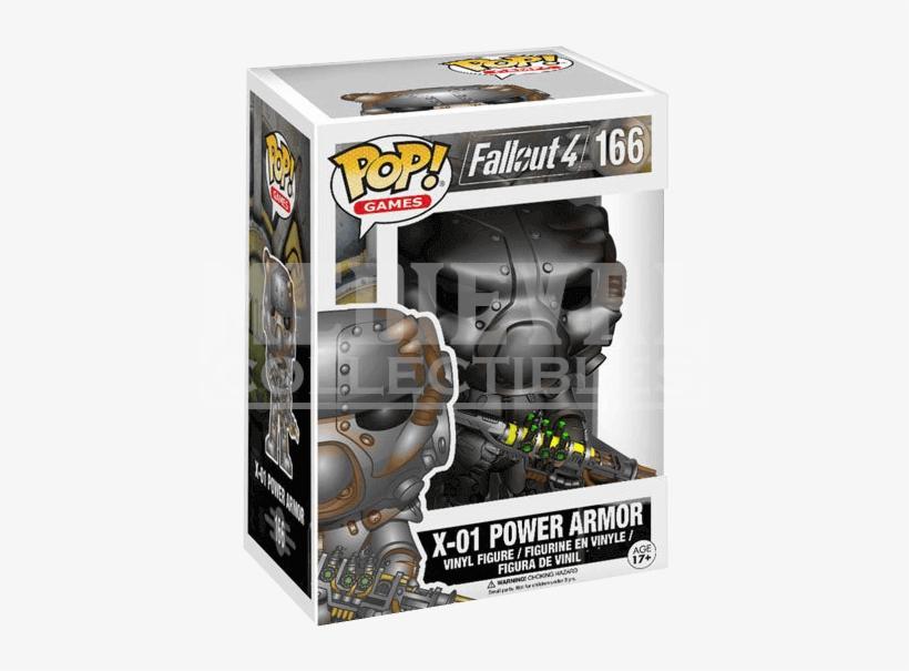Fallout 4 X01 Power Armor Pop Figure - Fallout 4 Funko, transparent png #3475034