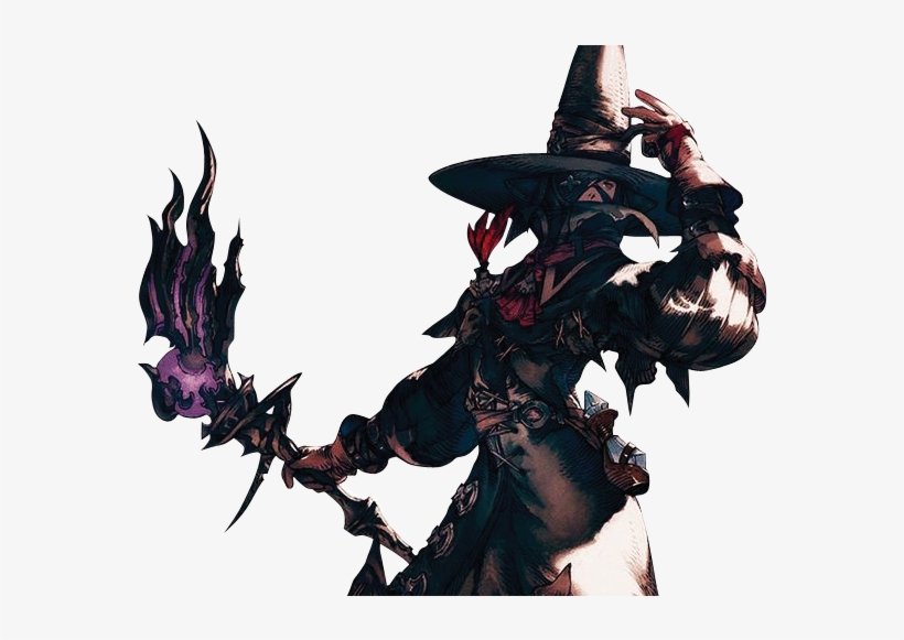 Black Mage, Fantasy Series, Final Fantasy, Cosplay - Final Fantasy Xiv Render, transparent png #3475827