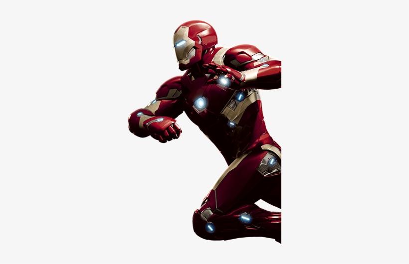 Captain America Iron Man - Captain America: Civil War (blu-ray/digital Copy), transparent png #3476197