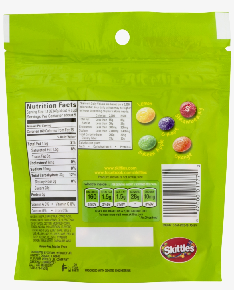 Skittles, Sour Chewy Candy, - Skittles Sweet Heat Candy Bag, 7.2 Ounce, transparent png #3476279