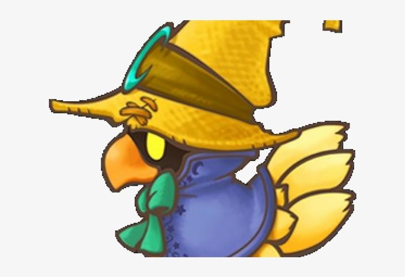 Final Fantasy Clipart Black Mage - Final Fantasy Chibi Chocobo, transparent png #3476398
