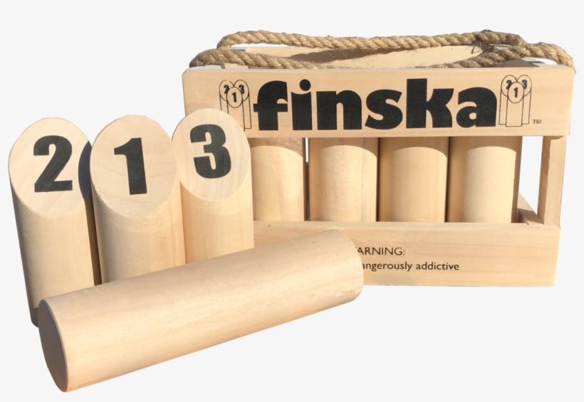 Finska - Finska - The Outdoor Family Wooden Maths Game, transparent png #3476545