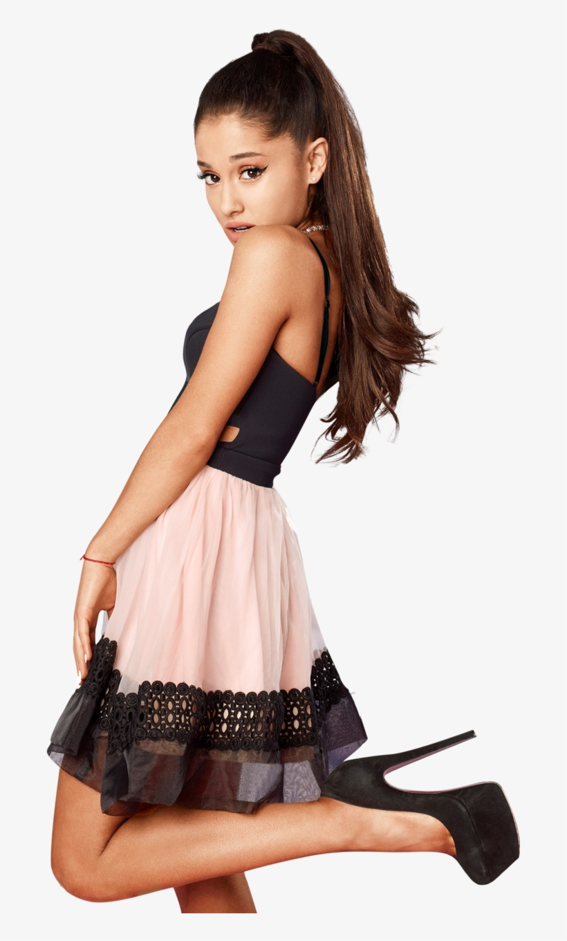126 Images About Celeb Png's On We Heart It - Ariana Grande Lipsy London Dress, transparent png #3477301