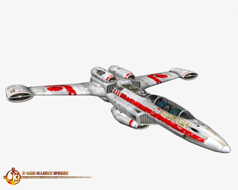And Four Sublight Engines, The Planetary Fighter Is - Star Wars: X-wing, transparent png #3477582