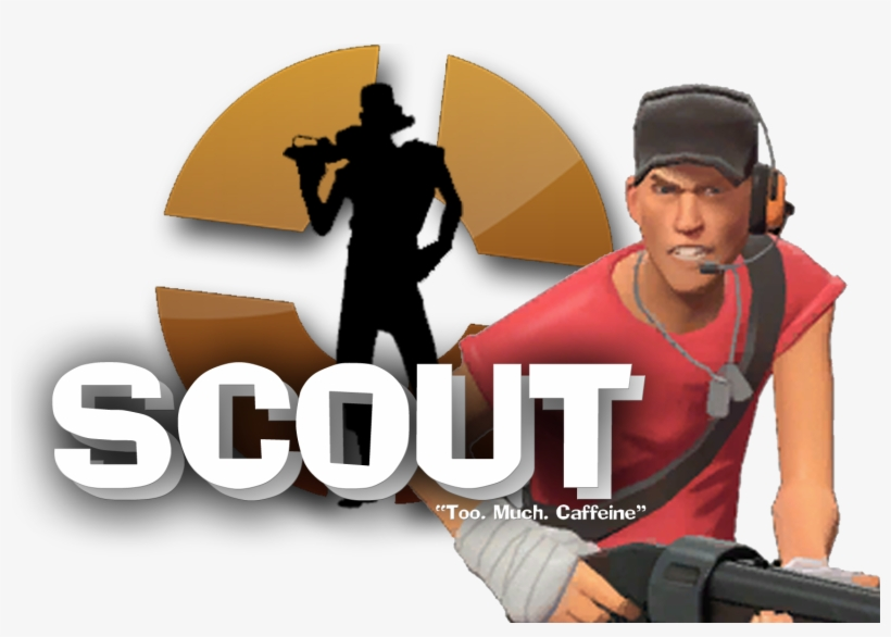 Tf2 Scout Team Fortress 2 Scout Tf2 Free Transparent Png Download Pngkey