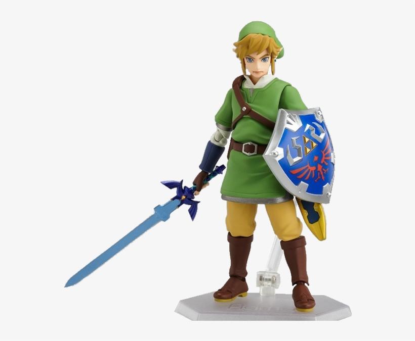 The Legend Of Zelda Skyward Sword - Legend Of Zelda: Skyward Sword Link Action Figure, transparent png #3481234