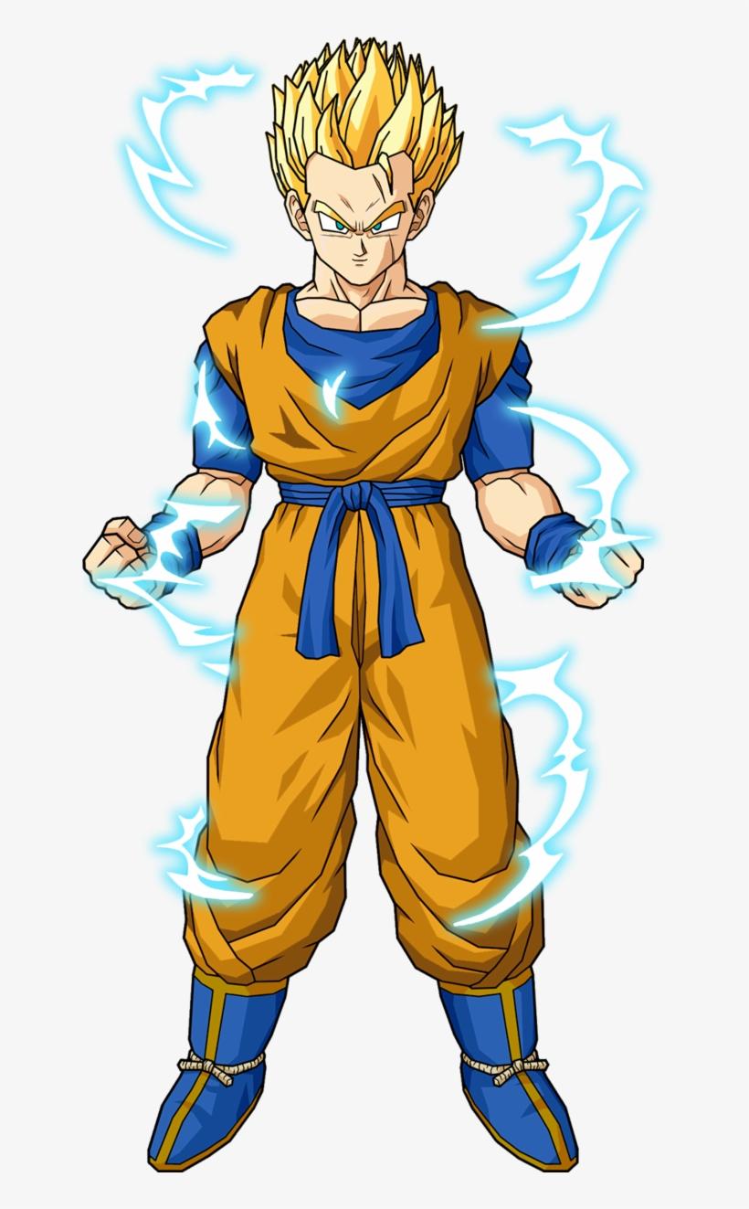 Future Gohan Ssj2 Dragon Ball Z Gohan Free Transparent Png