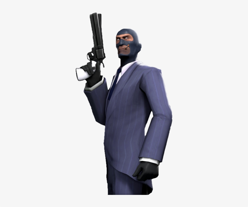 Undefined Team Fortress 2 Blu Spy Free Transparent Png