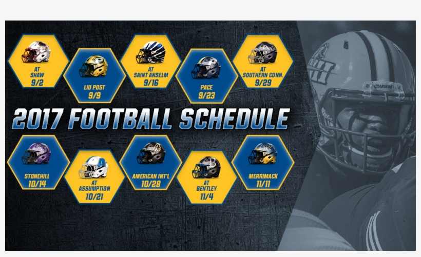 Chargers Announce 2017 Schedule - Chargers Schedule 2017 18, transparent png #3485178