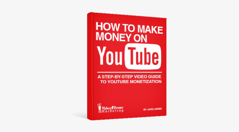 How To Make Money On Youtube - Make Money On Youtube Book, transparent png #3486381