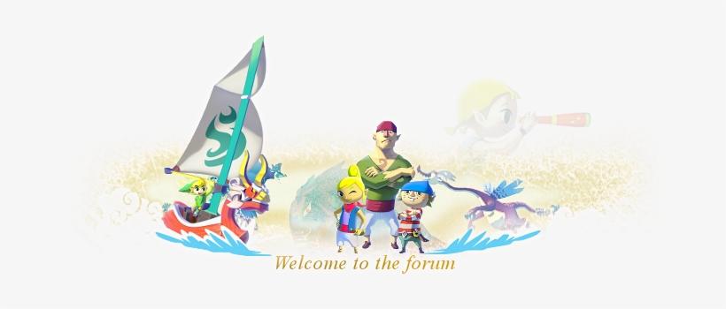 The Legend Of Zelda - The Legend Of Zelda: The Wind Waker, transparent png #3488535