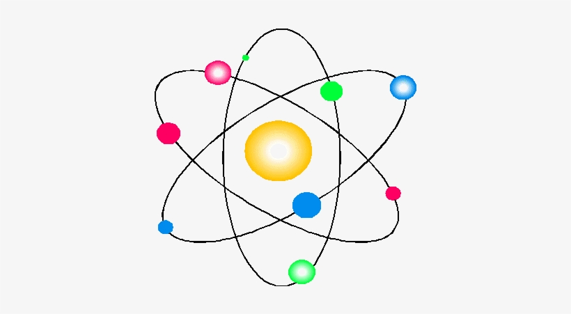 El Modelo De Particulas Es El Nombre Que Le Da La Ciencia - Atom, transparent png #3488895