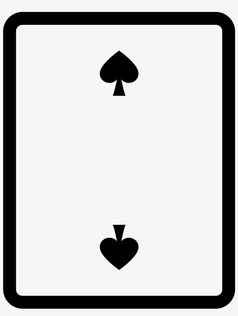 2 Of Spades Icon - Billing Icon Report Icon, transparent png #3489769