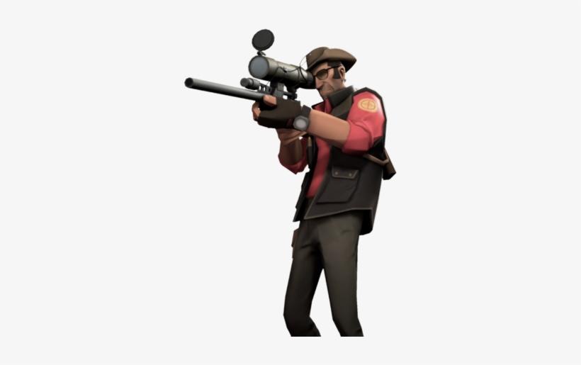 Tf2 Sniper Google Search Sniper Tf2 Free Transparent Png