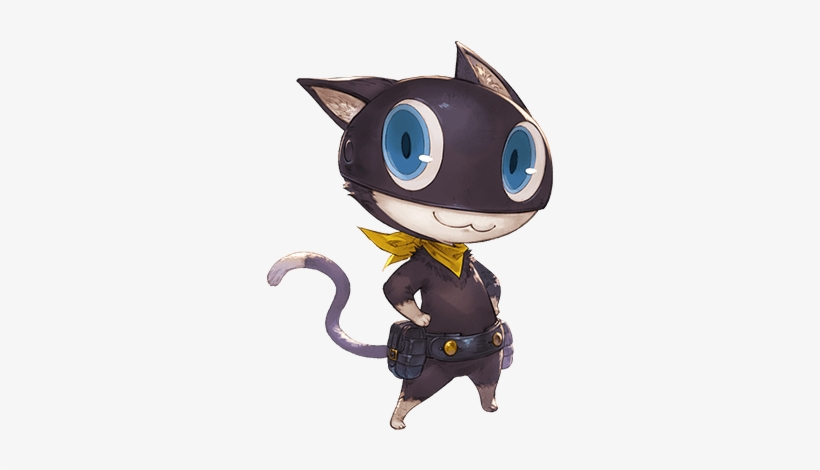 Morgana - Granblue Fantasy Persona 5 Art, transparent png #3493003